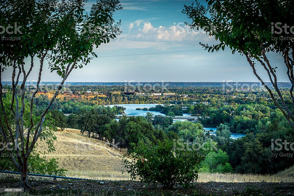 Sacramento River stock photo