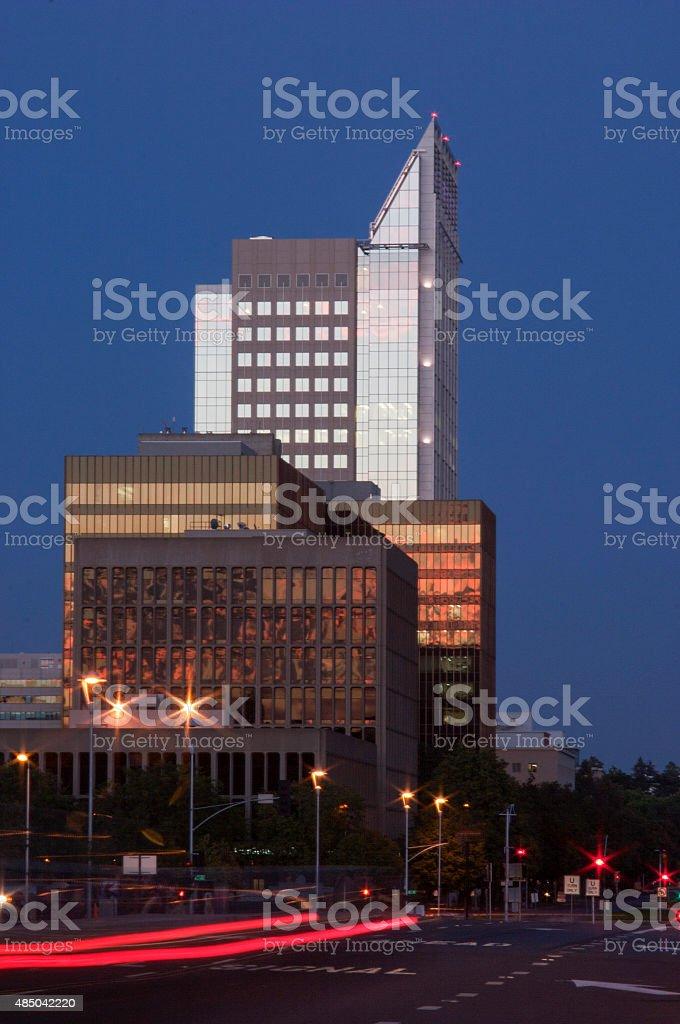 Sacramento Skyline stock photo
