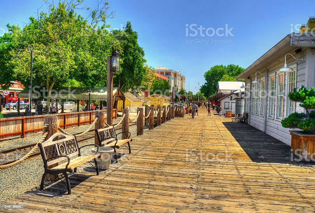 Sacramento Walks, California shots, USA stock photo
