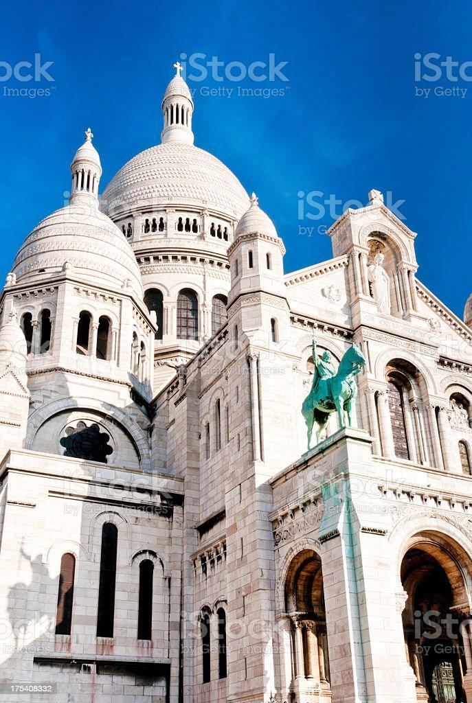 Sacré-Coeur de Montmartre in Paris royalty-free stock photo