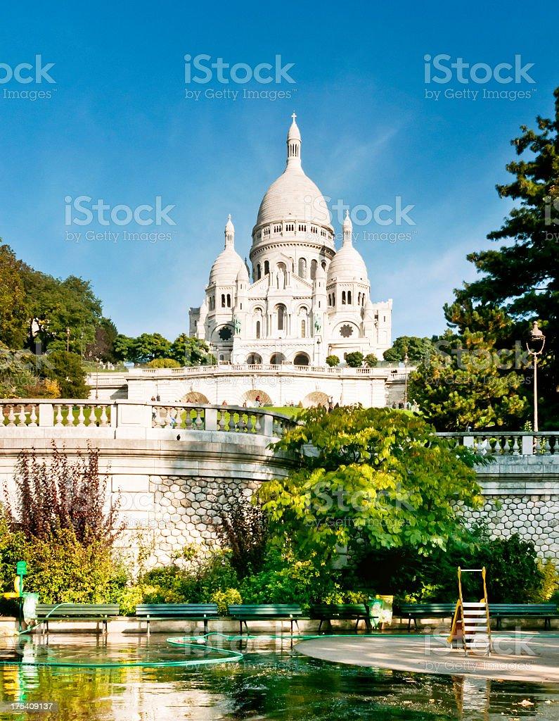 Sacré-Coeur de Montmartre in Paris stock photo