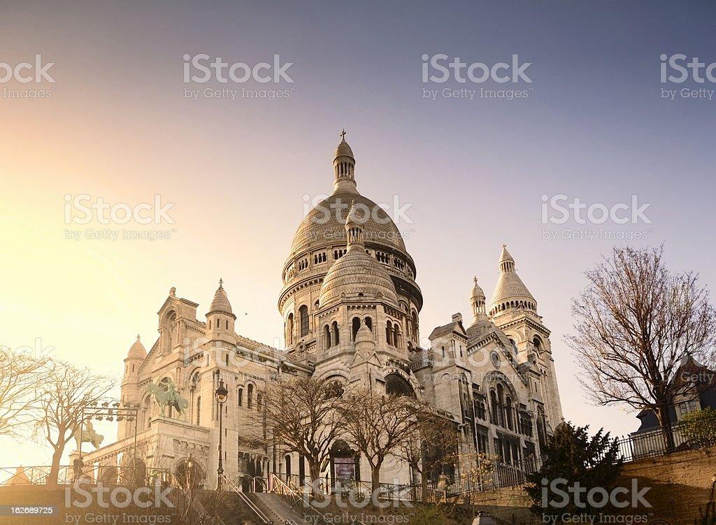 Sacre Coeur Basilica stock photo