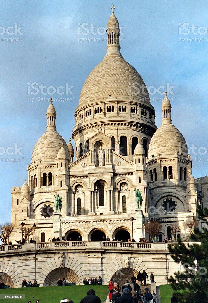 Sacre Coeur Church royalty-free stock photo