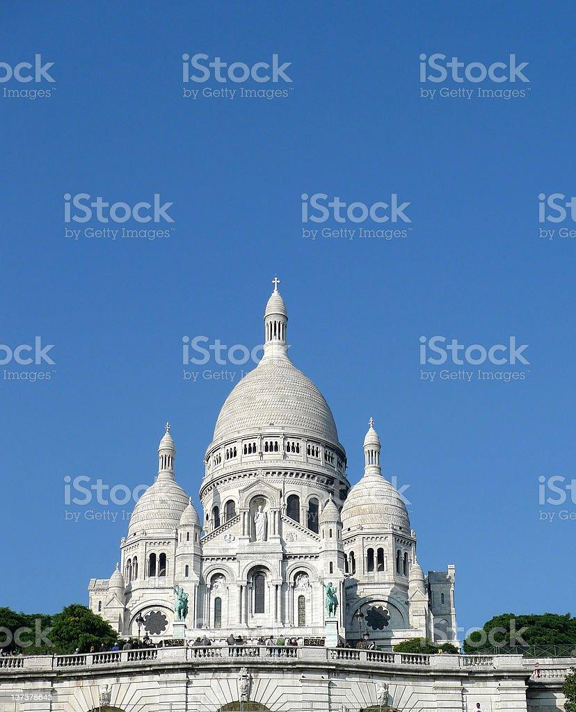 Sacre Coeur - france stock photo