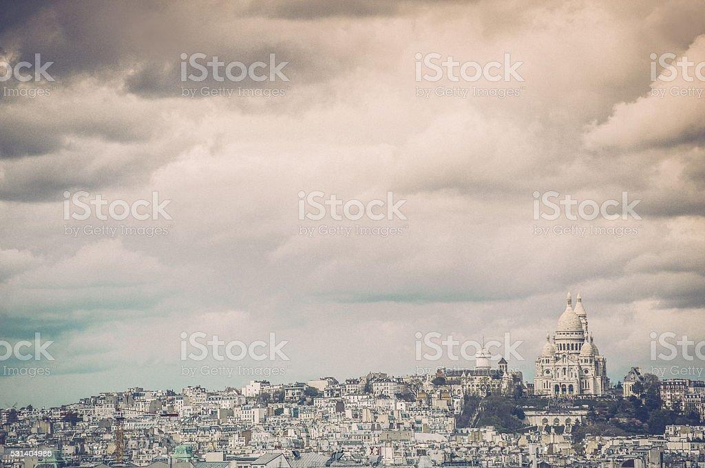 Sacre Coeur, Paris, France stock photo