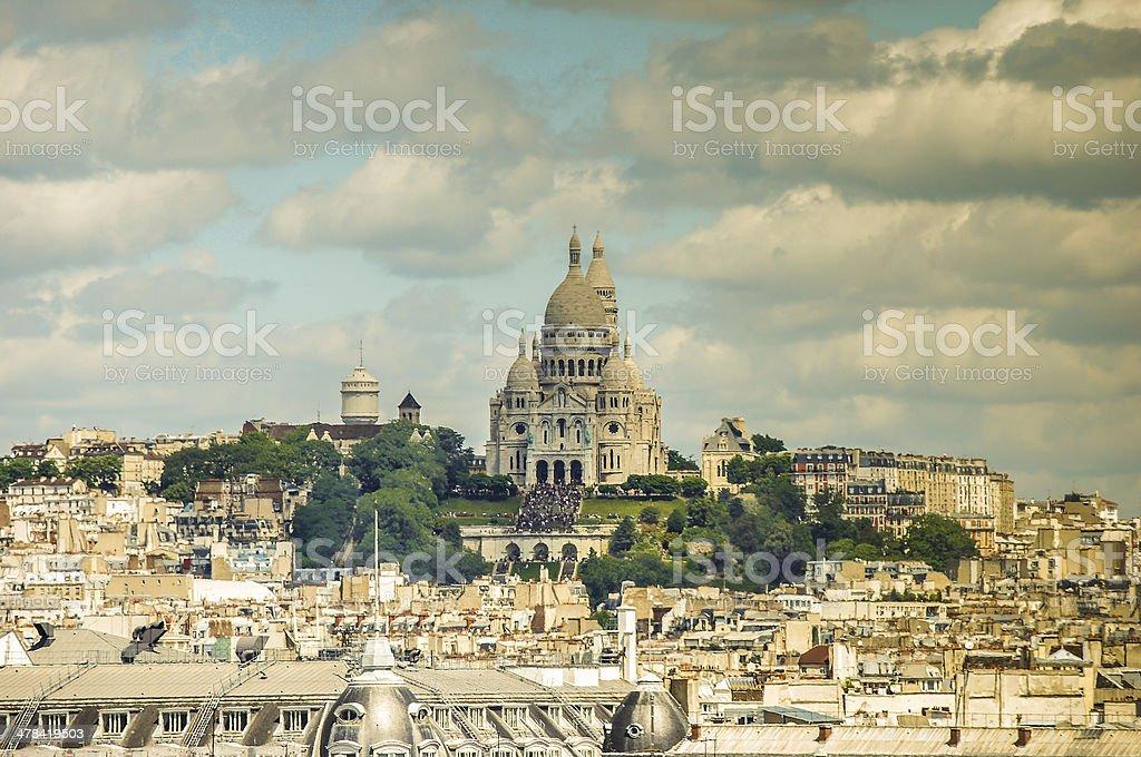 Sacre Coeur, Paris stock photo