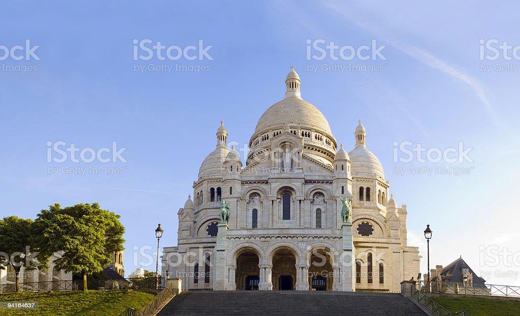 Sacre Coeur Paris stock photo