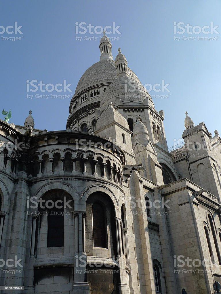 Sacre Coeur stock photo