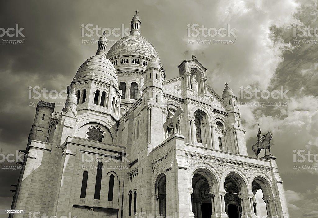Sacre Coeur. royalty-free stock photo