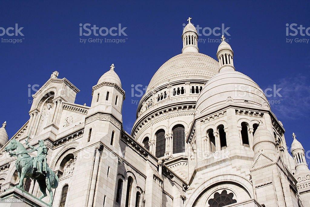 Sacre Coeur royalty-free stock photo