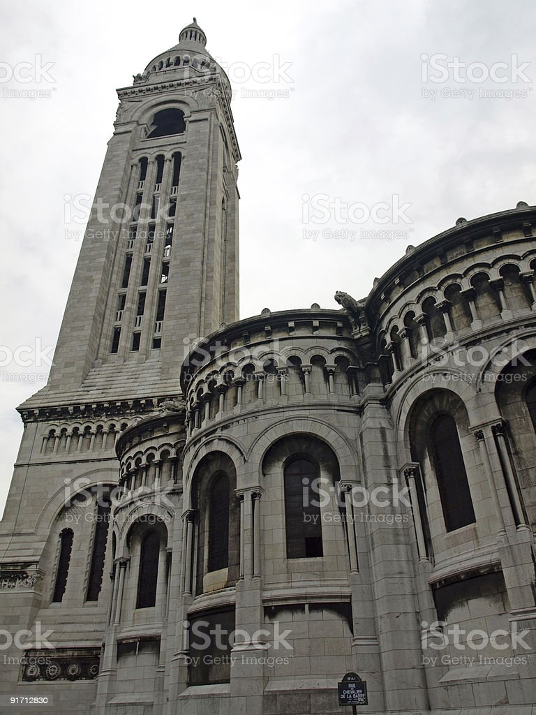 Sacre Coeur,Paris stock photo