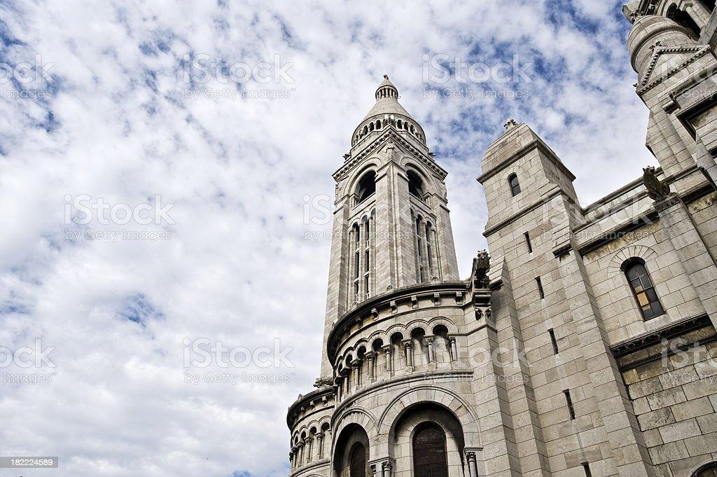 Sacre'-Coeur stock photo