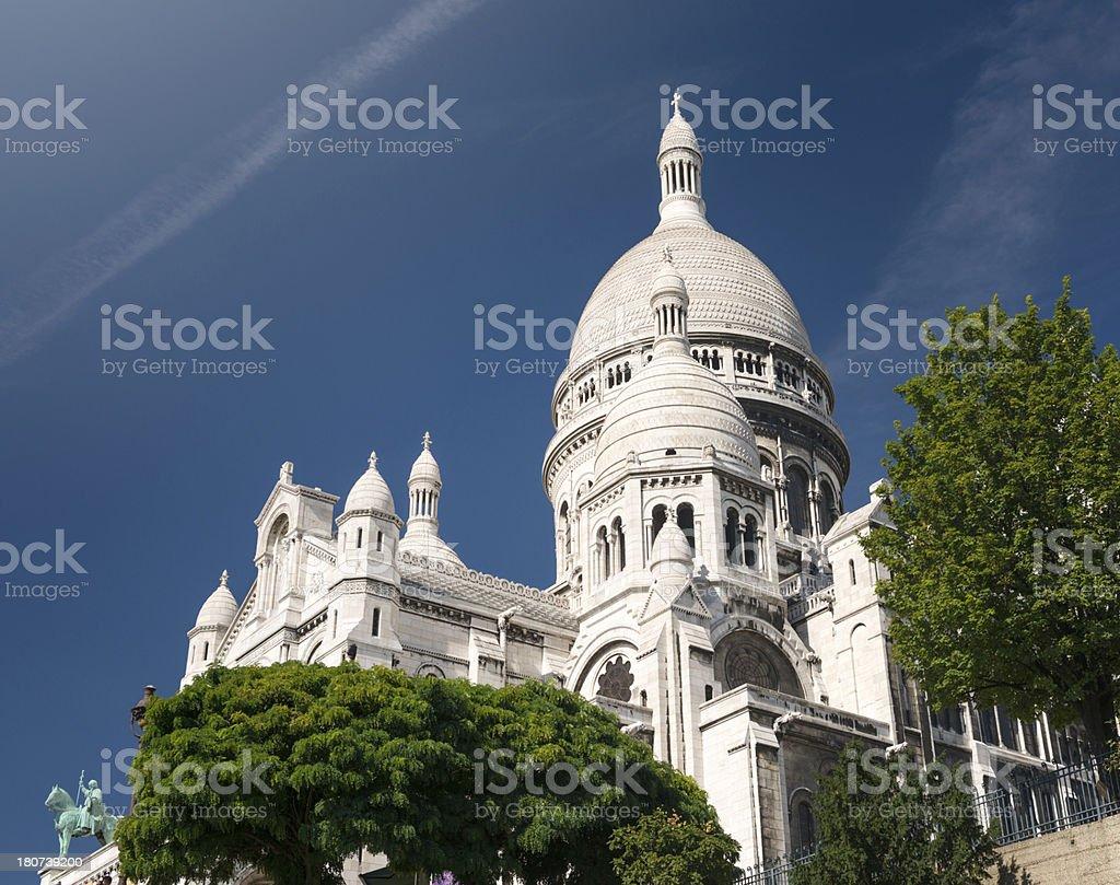 Sacré-Coeur de Montmartre royalty-free stock photo
