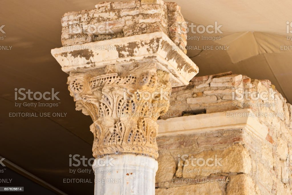 Demre, Turkey - June 9, 2012: Sacred Nikolay Chudotvortsa church in to Demre. Demre - the city and the region in the province Antalya. stock photo