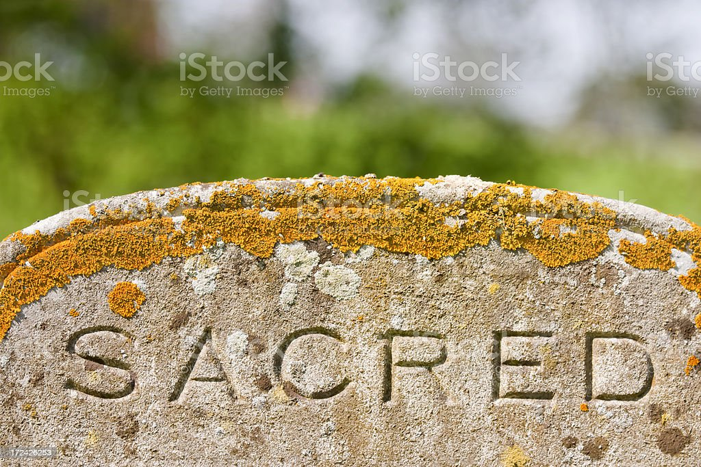 Sacred royalty-free stock photo