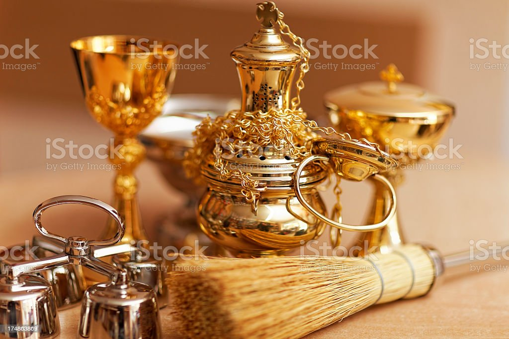 Sacred vessels royalty-free stock photo