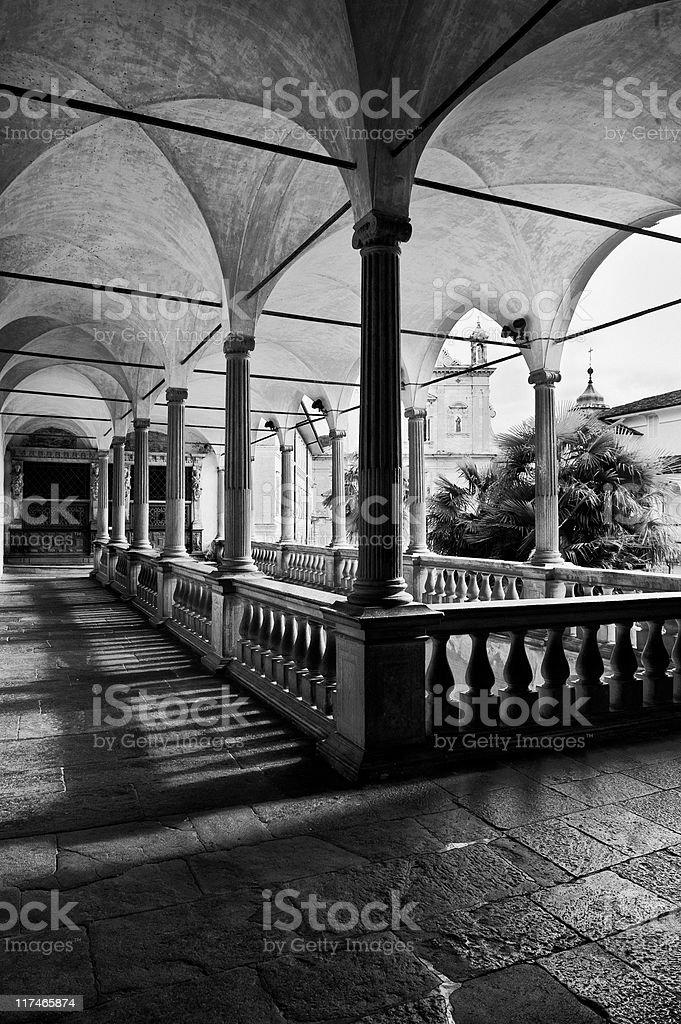 Sacro Monte di Varallo royalty-free stock photo