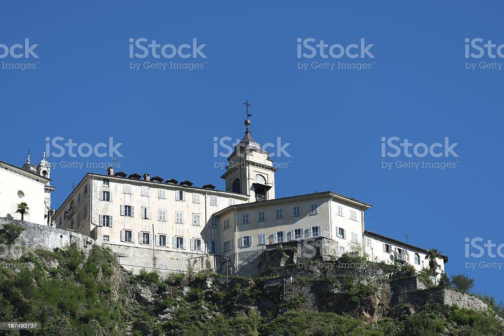 Sacro Monte di Varallo Sesia, Italy. stock photo