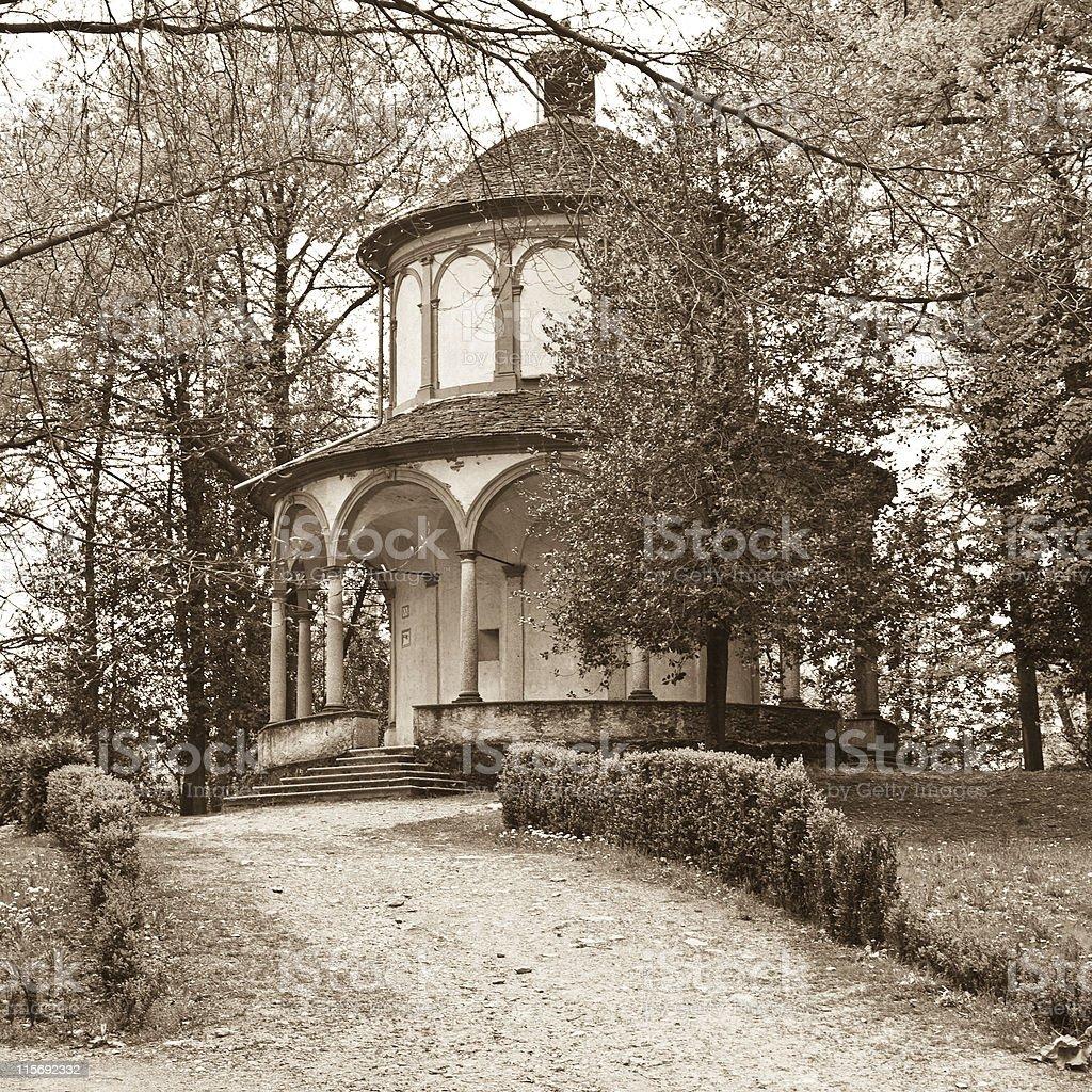 Sacro Monte, Orta S. Giulio - Italian Lake District Italy royalty-free stock photo