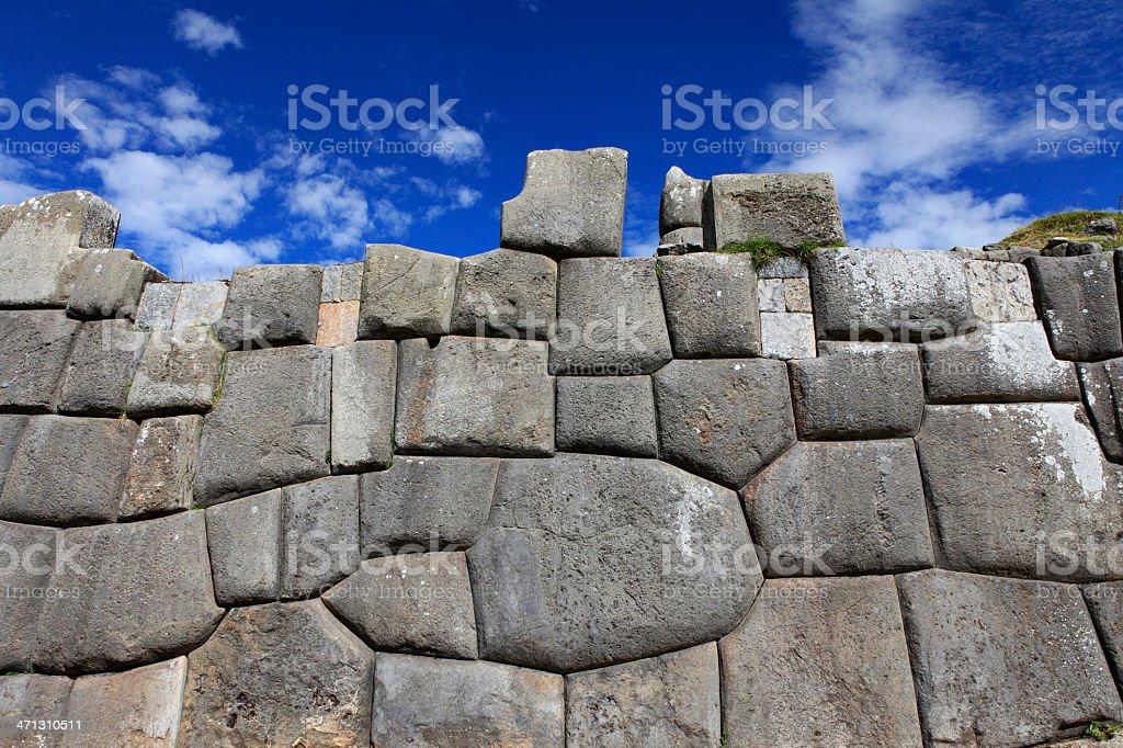 Sacsayhuamán - Cusco, Peru royalty-free stock photo