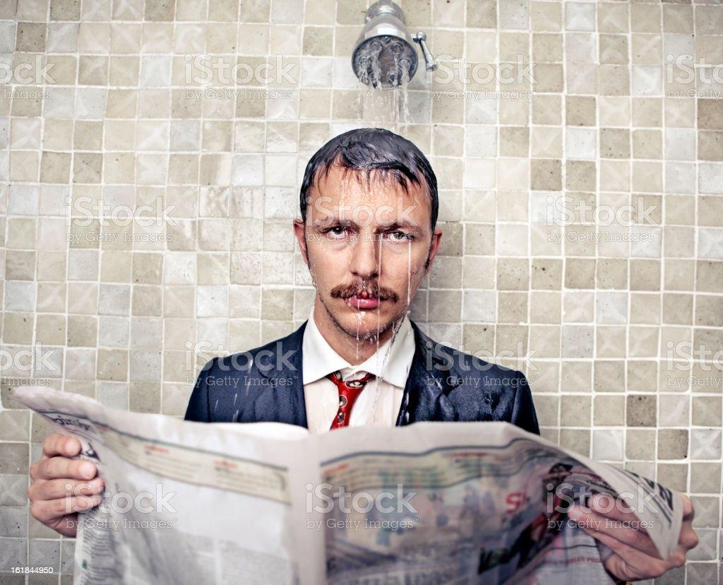 sad businessman royalty-free stock photo