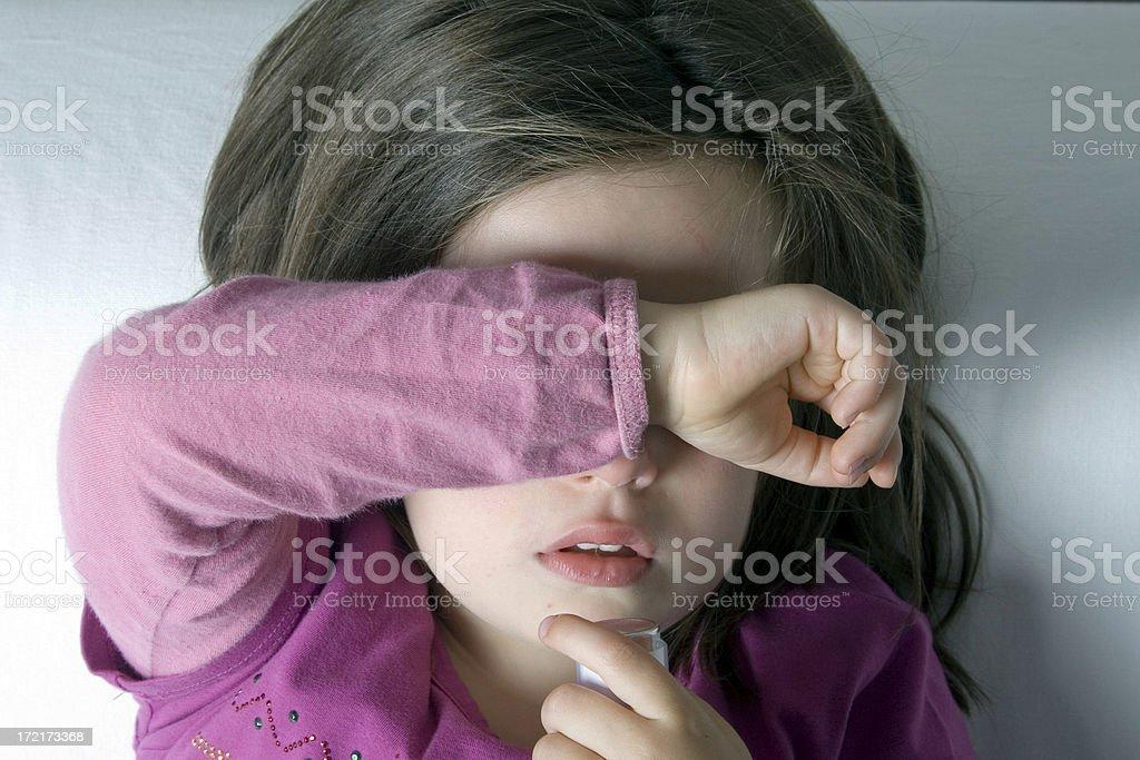 sad child royalty-free stock photo