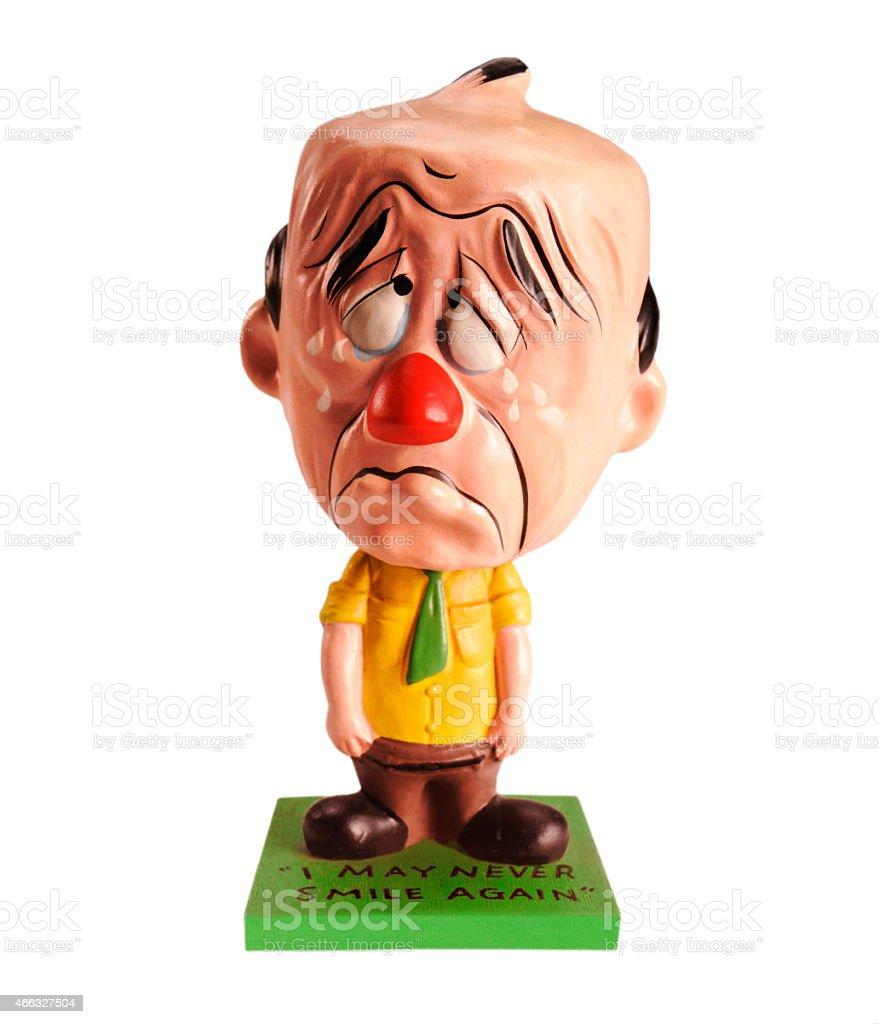 Sad Crying Man stock photo