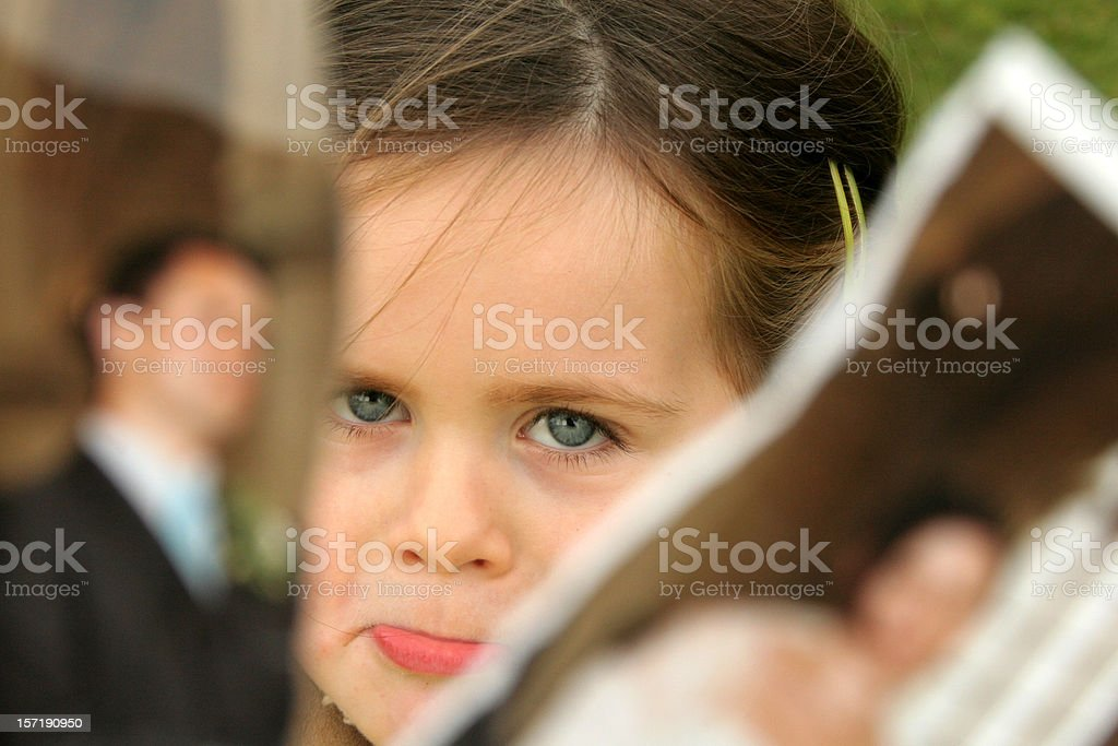 sad girl royalty-free stock photo