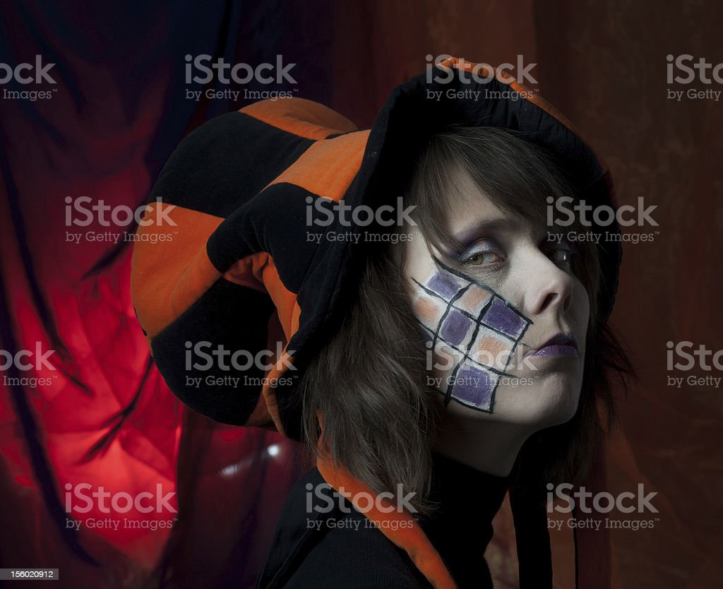 sad mad hatter royalty-free stock photo