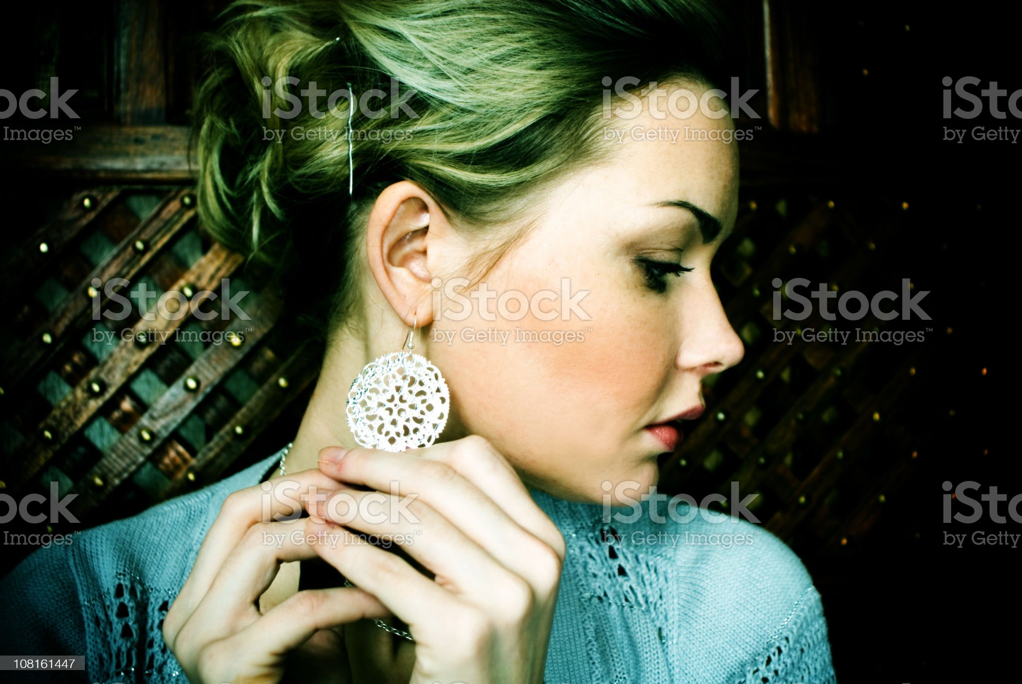 Sad royalty-free stock photo