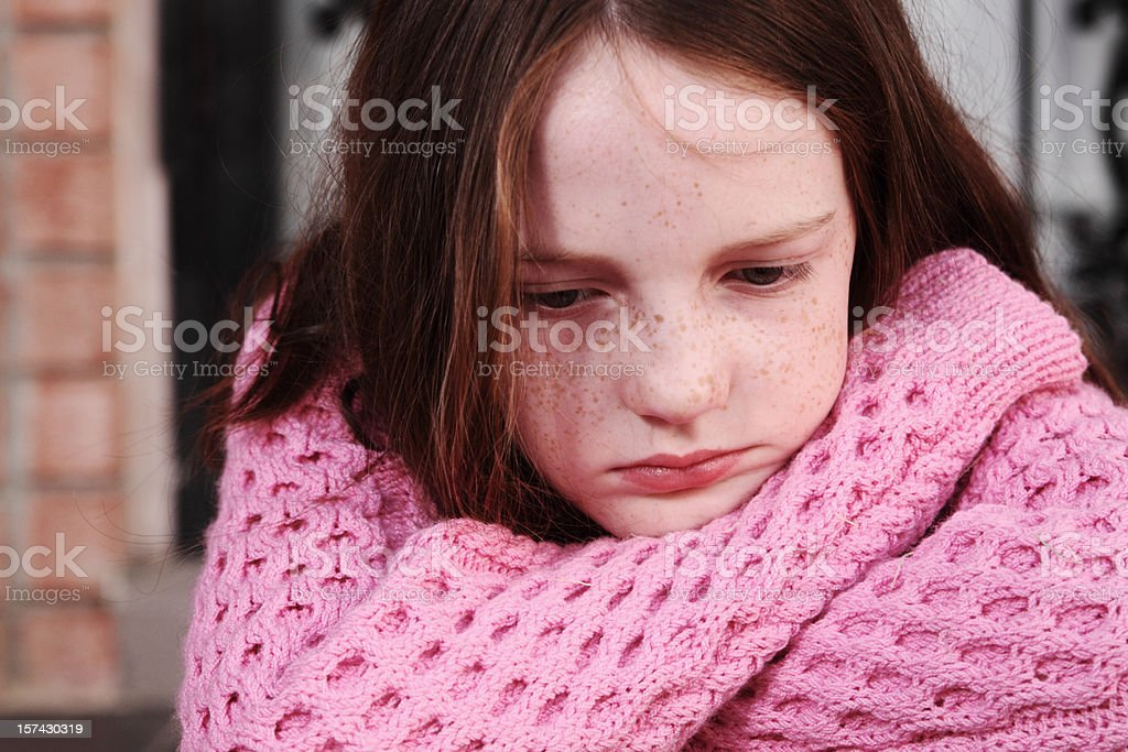 Sad stock photo