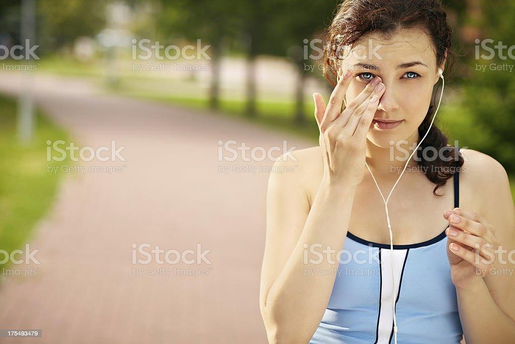 Sad song stock photo