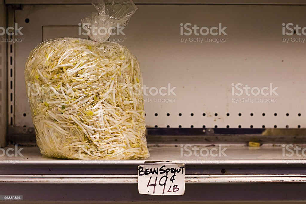 Sad Sprouts royalty-free stock photo