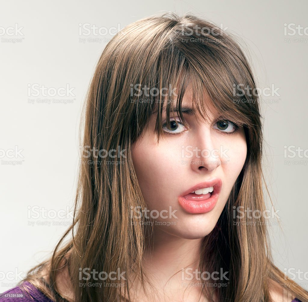 Sad Teenager stock photo