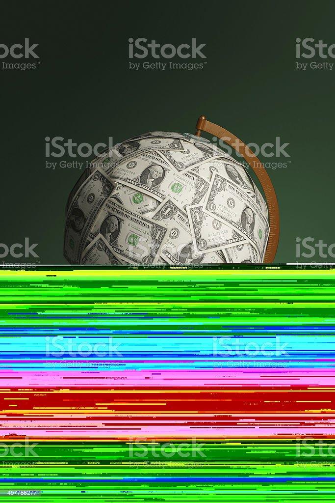 Sad Washington royalty-free stock photo
