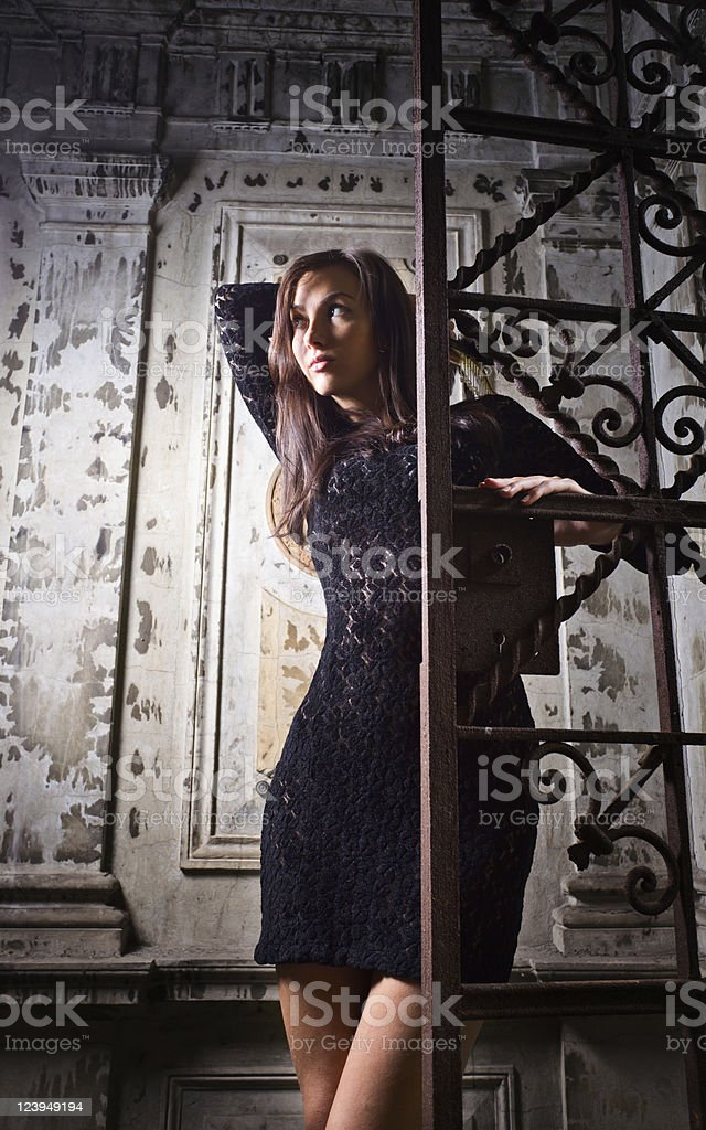 sad woman . royalty-free stock photo