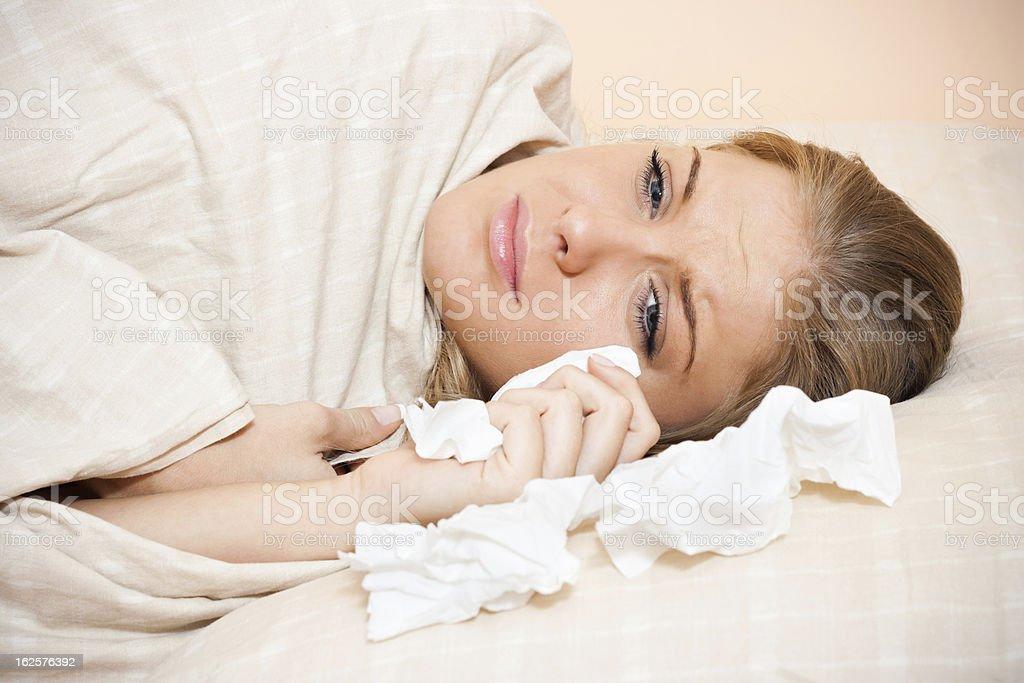 Sad woman royalty-free stock photo
