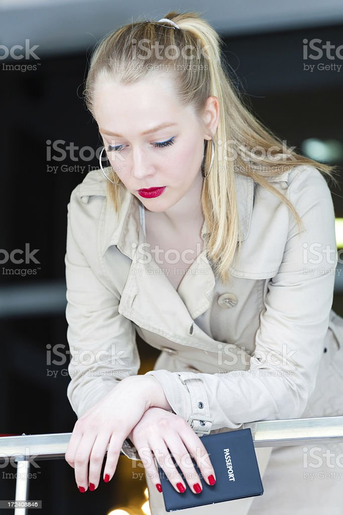 Sad young women royalty-free stock photo