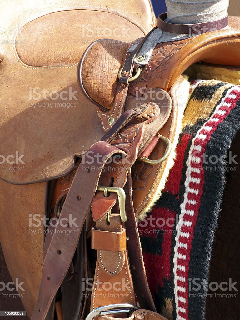 Saddle Me Up stock photo