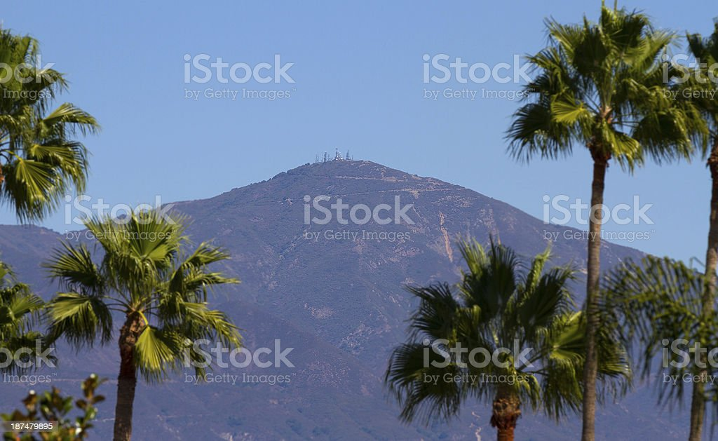 Saddleback Mountain stock photo