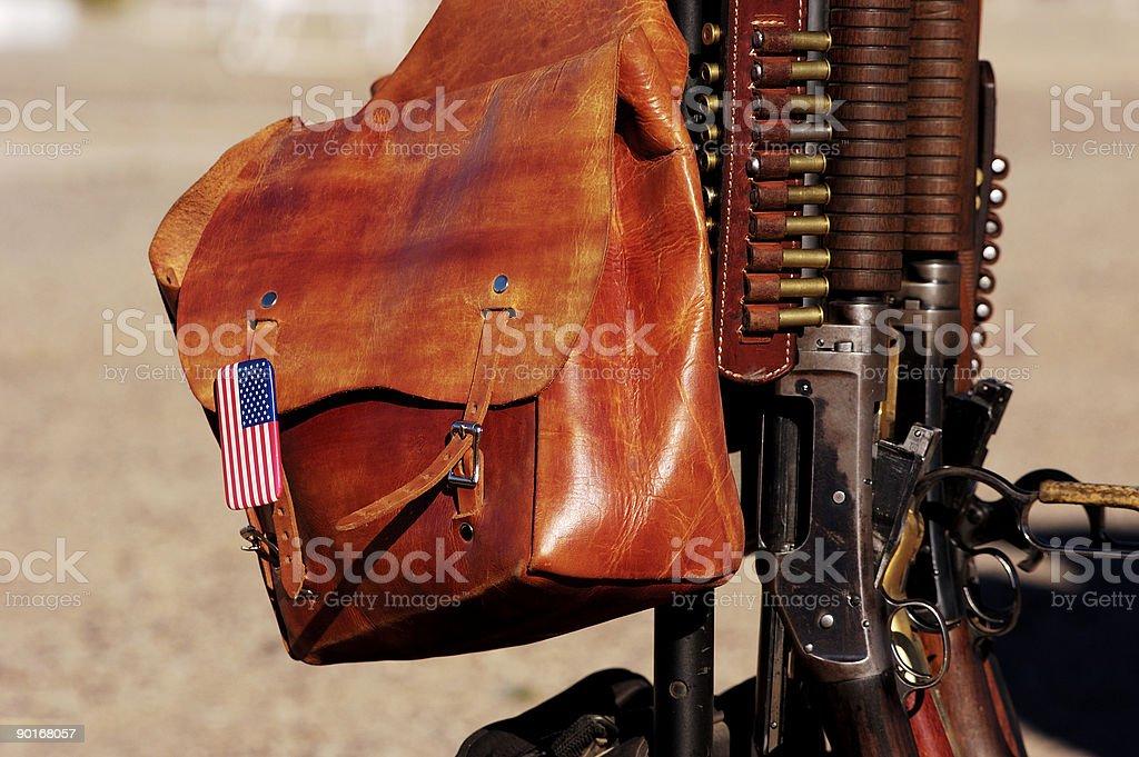 Saddlebag stock photo