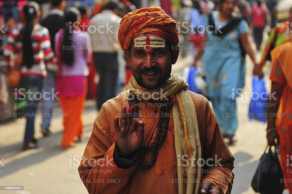 Sadhu royalty-free stock photo