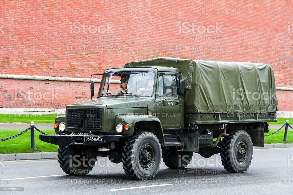 GAZ 3308 Sadko stock photo
