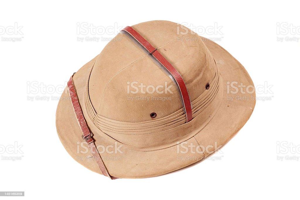 Safari hat royalty-free stock photo