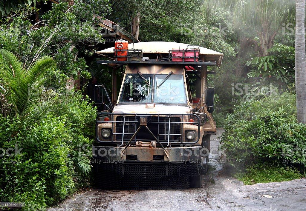 Safari Vehicle royalty-free stock photo