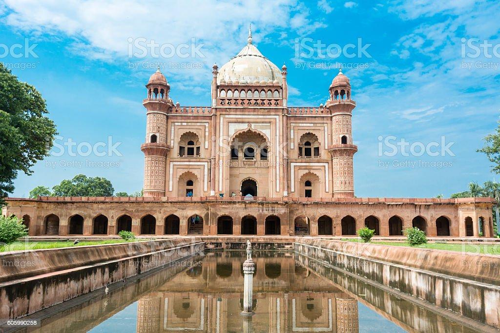 Safdar Jung's Tomb, Delhi, India. stock photo