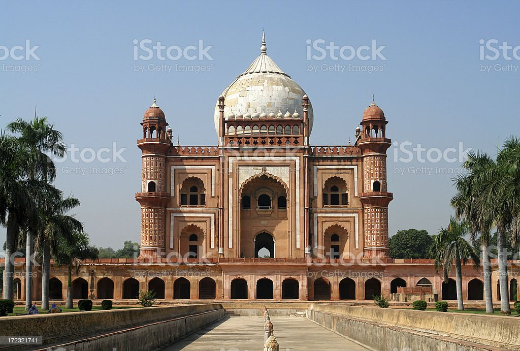 Safdarjang's Tomb, Delhi, India royalty-free stock photo