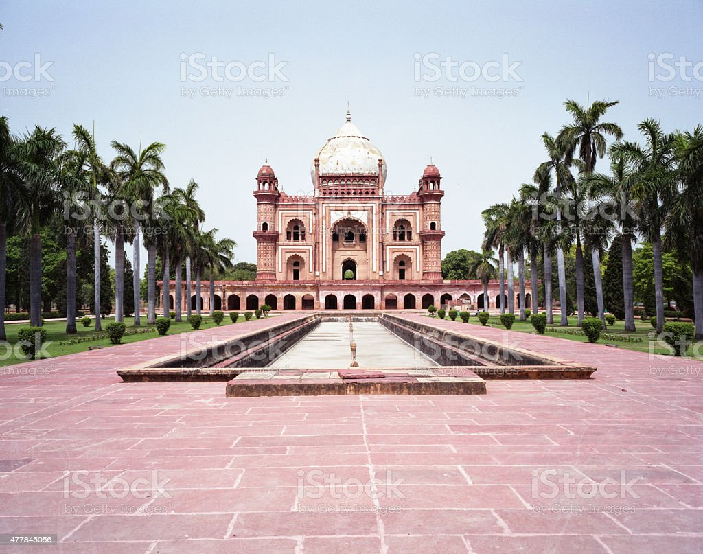 Safdarjung Tomb in Delhi, India stock photo