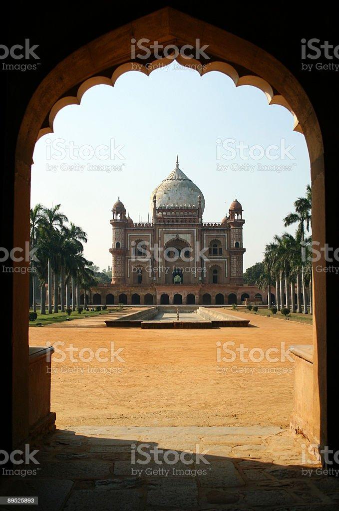 Safdarjung tomb royalty-free stock photo