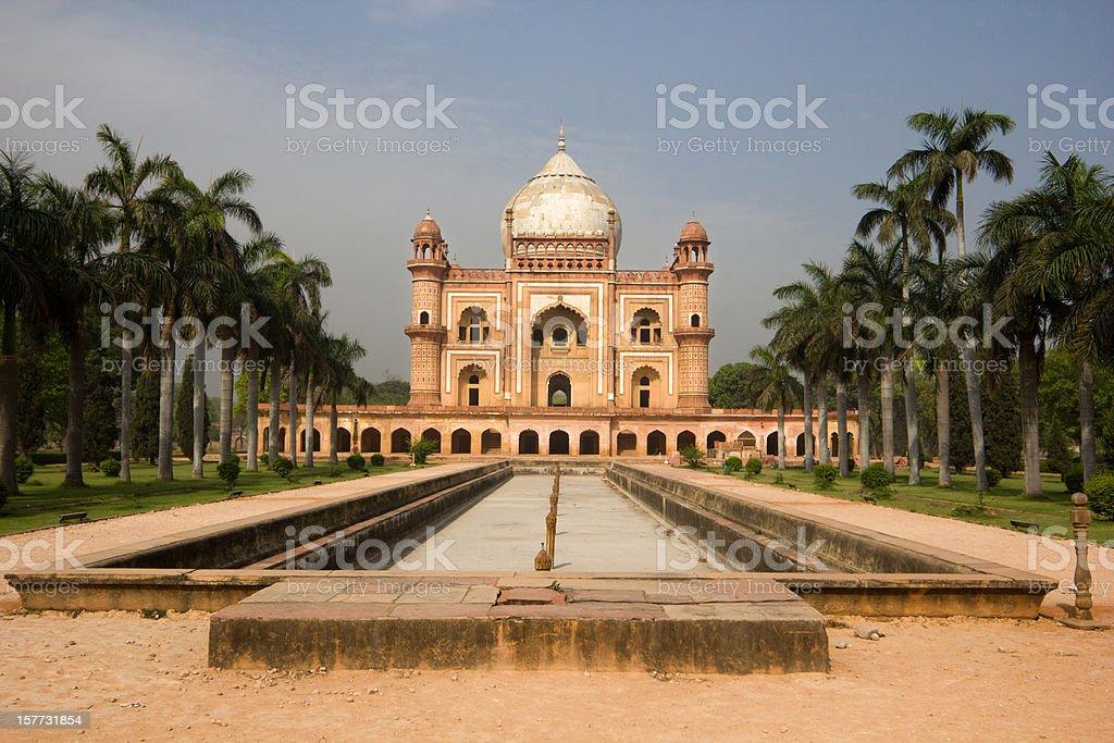 Safdarjung's Tomb in Delhi, India stock photo